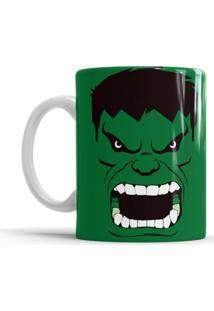 Caneca S De Cerâmica Sude Hulk Verde