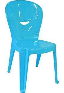 Cadeira Monobloco Azul Vice 92270070 Tramontina