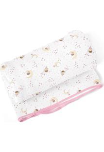 Cobertor Papi Fadinha Branco - Kanui