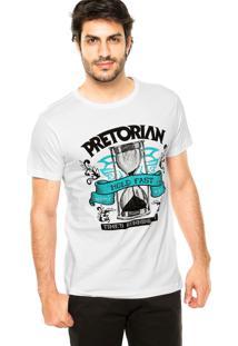 Camiseta Pretorian Hold Fast Branca
