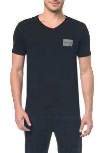Camiseta Ckj Mc Estampa Quadrado Peito - P