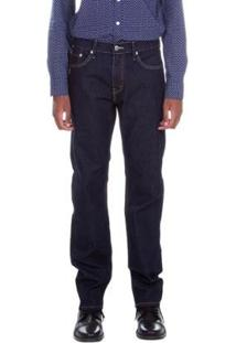 Calça Jeans Levis 505 Regular Fit - Masculino-Azul