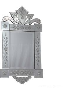 Espelho Decorativo Ramon Prata - Antonio E Filhos