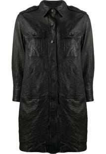 Zadig&Voltaire Rexy Shirt Dress - Preto