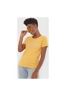 Camiseta Rusty Authentic Amarela
