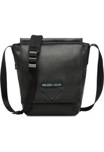 Prada Leather Shoulder Bag - Preto