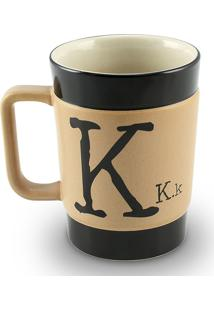 Caneca Coffe To Go- K 300Ml-Mondoceram - Pardo