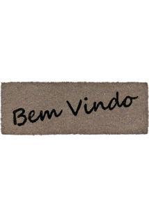 Capacho Fibra De Coco Slim 01 0,26X0,75M Edantex