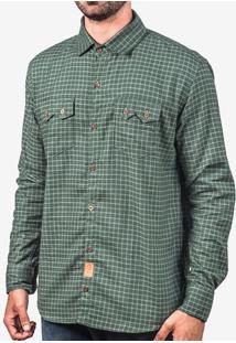 Camisa Xadrez Verde 200397