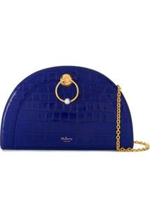 Mulberry Bolsa Tiracolo 'The Crescent' - Azul