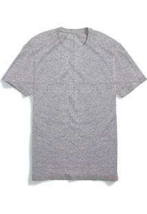 Camiseta Part. B Básica T-Shirt Algodão - Masculino-Cinza