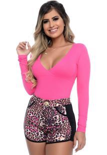 Body Nathalia Freitas Susy Pink