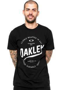 Camiseta Oakley O-Legs 2.0 Preta
