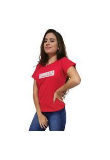 Camiseta Feminina Cellos To Life Premium Vermelho