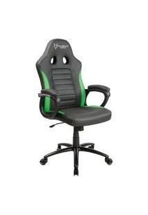 Cadeira Gamer Husky Polar, Black Green - Hpo-Bg
