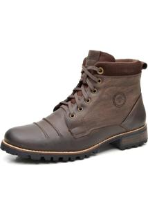 Bota Liferock Lr11023-2 Cafe