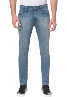 Calça Jeans Five Pocktes Skinny Ckj 016 Skinny - Azul Médio - 38