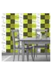 Papel De Parede Autocolante Rolo 0,58 X 5M - Azulejo Xicara 70053