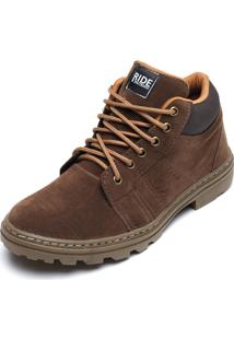 Bota Ride Skateboard Tex Marrom