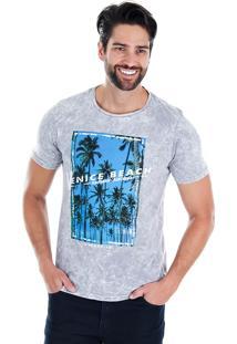 Camiseta Masculina Urbany - Cinza