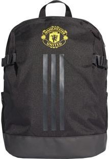 Mochila Adidas Manchester United Preta E Amarela