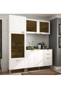 Cozinha Completa 3 Peças Americana Multimóveis 5901 Branco