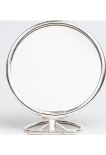 Espelho Le Lis Blanc Casa Paris Prata (Prata, Un)