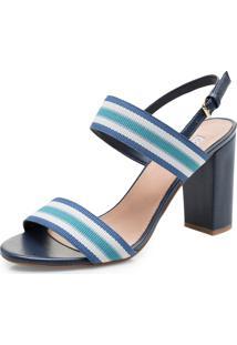 Sandália Corello 51863 Azul Marinho