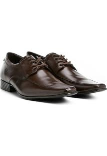 Sapato Social Couro Shoestock Tradicional Masculino