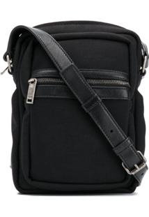 Saint Laurent Brad Crossbody Bag - Preto