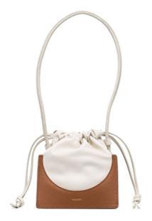 Yuzefi Pouchy Clutch Bag - Marrom