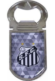 Abridor De Garrafas Magnético Santos - Unissex