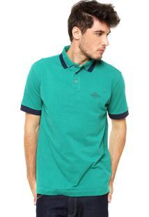 Camisa Polo Triton New Verde/Azul-Marinho