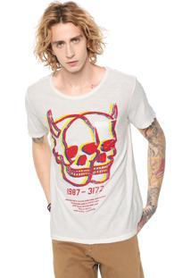 Camiseta John John Rx Double Off-White