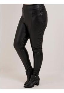 Calça Cativa Plus Size Feminina - Feminino-Preto