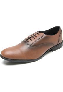 Sapato Social Fiveblu Lace Caramelo