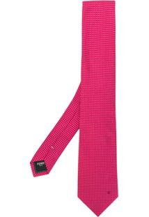 Fendi Gravata Com Padronagem - Pink & Purple