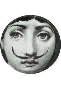 Fornasetti Cinzeiro De Cerâmica - Preto