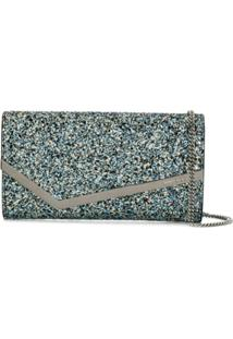 Jimmy Choo Clutch Emmie - Azul
