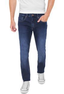 Calça Jeans Zoomp Slim Rockabilly Hicar Azul