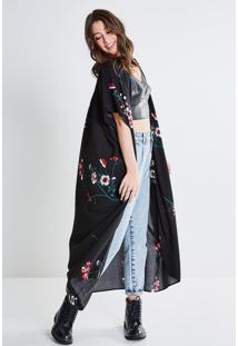 Kimono Longo Floral