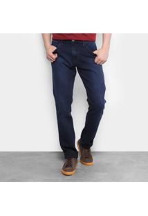 Calça Jeans Reta Triton Super Escura Masculina - Masculino