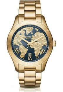 Relógio Michael Kors Mk6243/4Ai - Feminino-Dourado