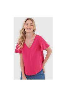 Blusa Mercatto Amarração Pink