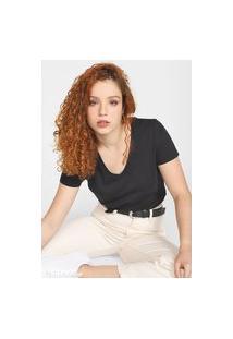 Blusa Calvin Klein Jeans Essentials Preta