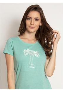Camiseta Aleatory Bordada Feminina - Feminino
