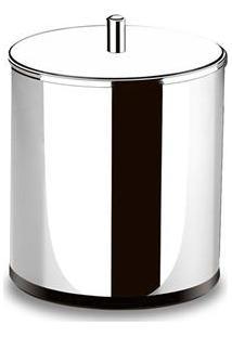 Lixeira Brinox Decorline Com Tampa Em Aço Inox 15 X 20 Cm - 3,2L
