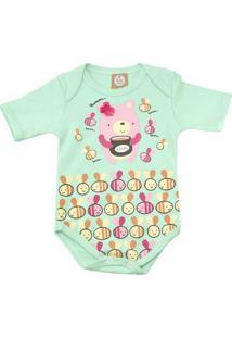Body Body For Babies Abelha Verde