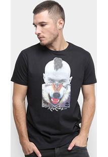 Camiseta Rukes Lobo Masculina - Masculino