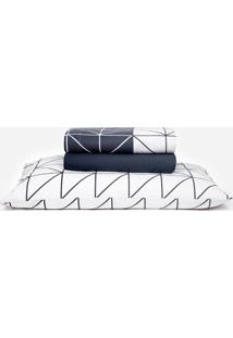Jogo De Cama King Estampado Home Design Lars Santista